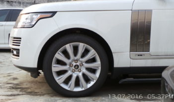 2015 Land Rover – Range Rover LWB – WM – Special Edition full
