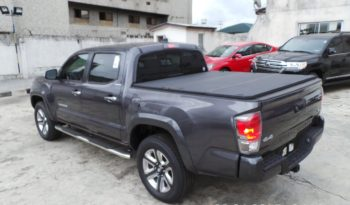 2017 Toyota Tacoma Limited 4×4 Double Cabin (crew Cab) Pick Up Truck – Gray full
